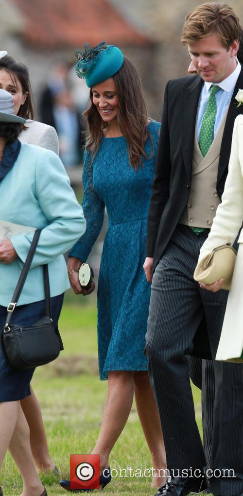 Royals attend Gayton wedding