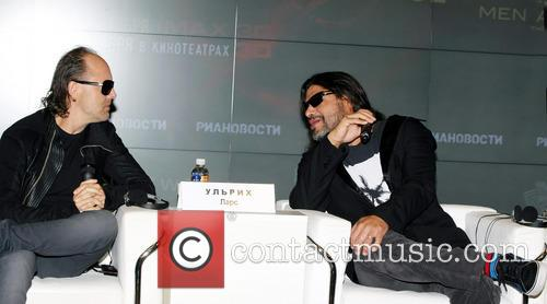 Lars Ulrich and Robert Trujillo 7