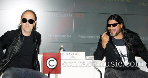 Lars Ulrich and Robert Trujillo 8