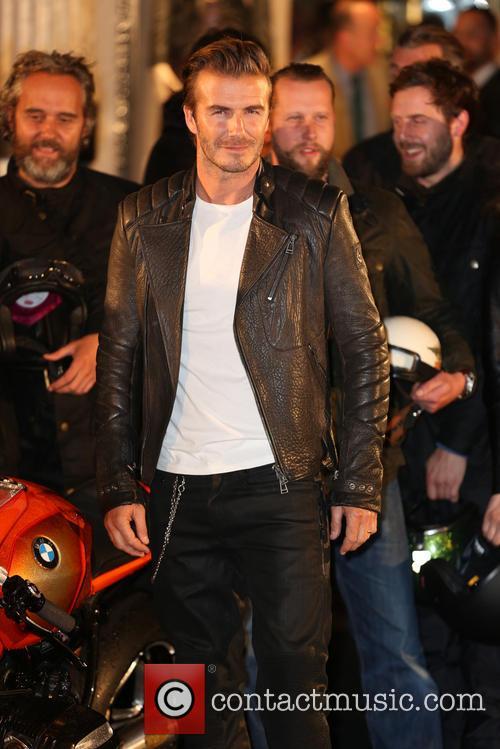 David Beckham, New Bond Street