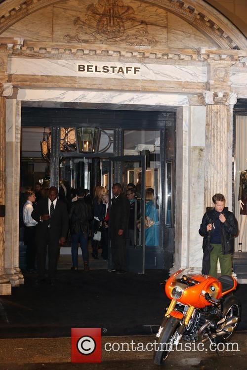 atmosphere belstaff house celebrity photocall 3867664