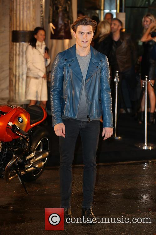 oliver cheshire belstaff house celebrity photocall 3867659