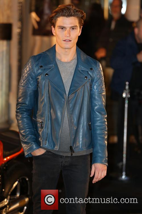 oliver cheshire belstaff house celebrity photocall 3867663