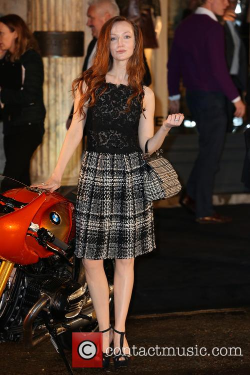 olivia grant belstaff house celebrity photocall 3867651