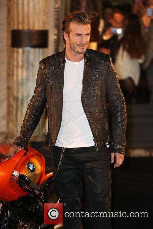 david beckham belstaff house celebrity photocall and 3867600