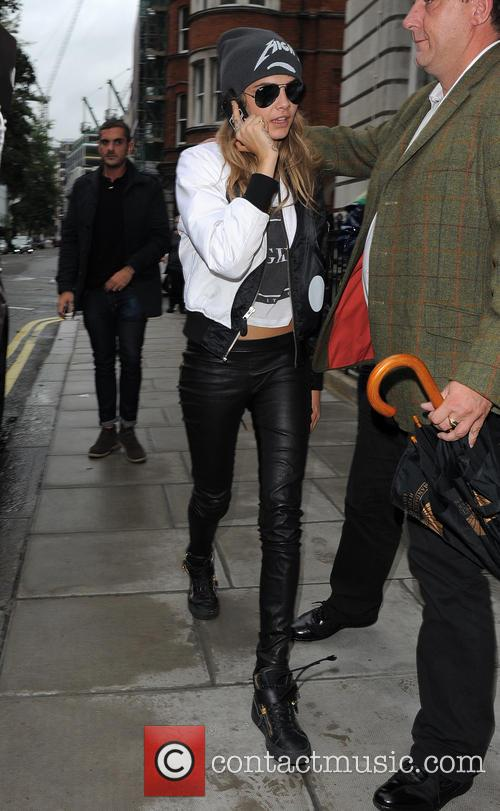 Cara Delevingne, London Fashion Week