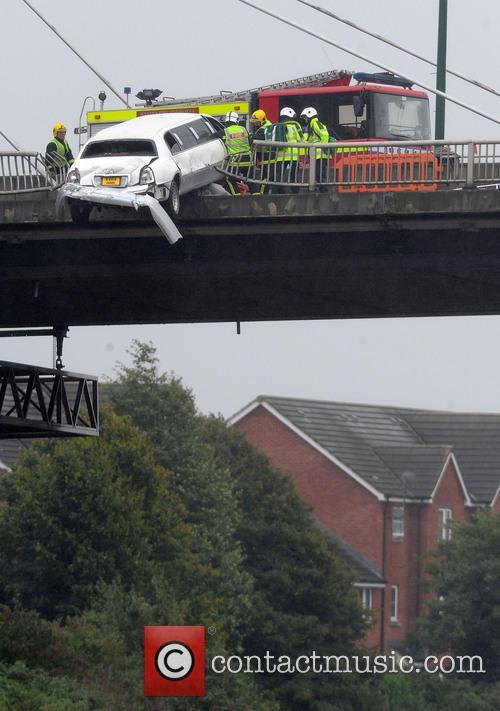 Casualty filming in Newport