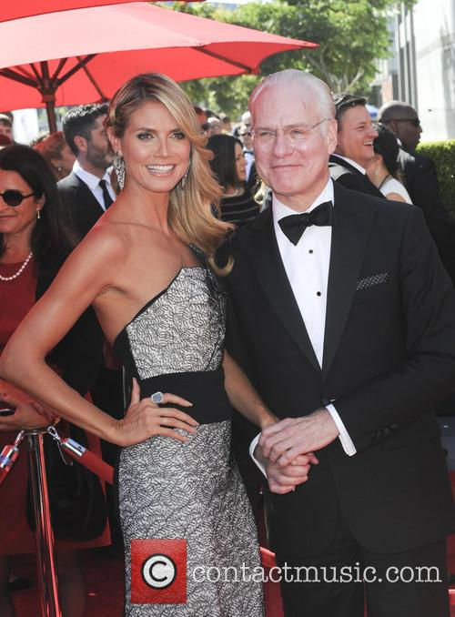Heidi Klum and Tim Gunn 5