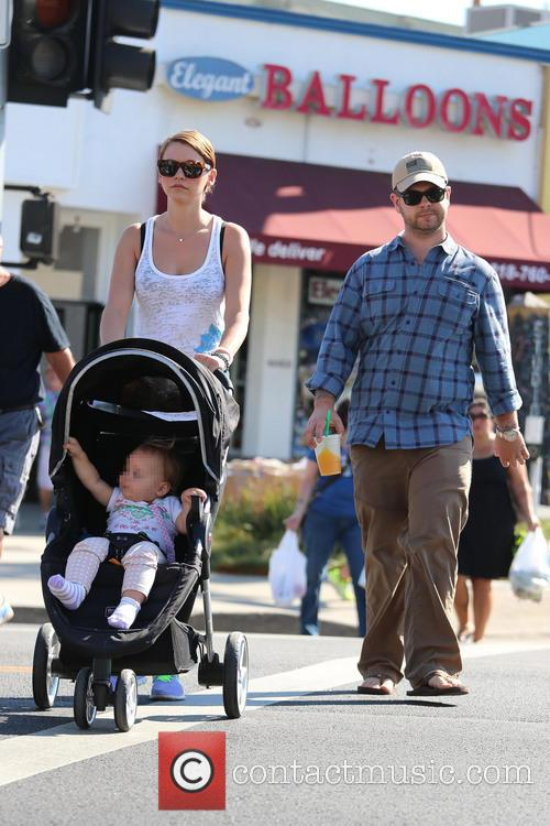 Jack Osbourne and his family visit a Farmers...