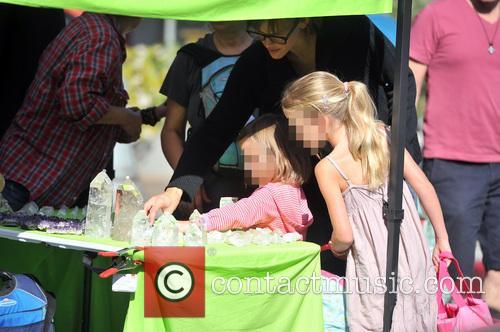 Jennifer Garner, Violet Affleck and Seraphina Affleck 2