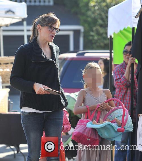 Jennifer Garner, Violet Affleck and Seraphina Affleck 6