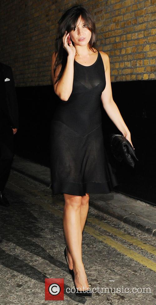 Celebrities leave W Magazine dinner through the back...