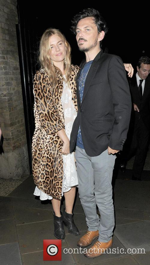 Sienna Miller and Matthew Williamson 2