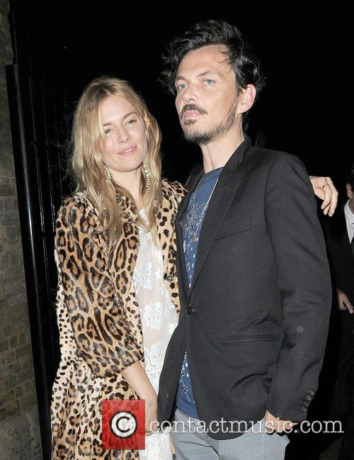 Sienna Miller and Matthew Williamson 5