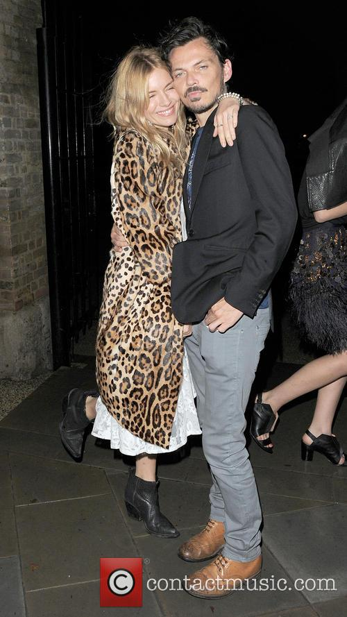 Sienna Miller and Matthew Williamson 6