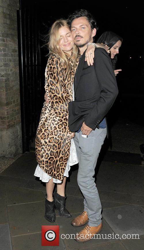 Sienna Miller and Matthew Williamson 10