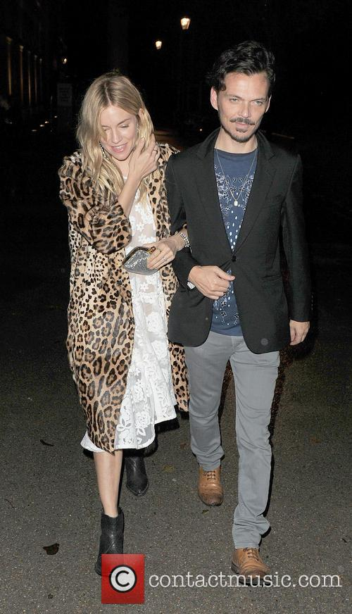 Sienna Miller and Matthew Williamson 1