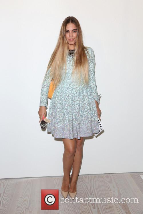 Amber Le Bon, London Fashion Week