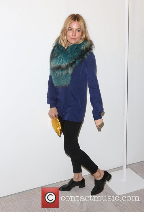 Sienna Miller, London Fashion Week
