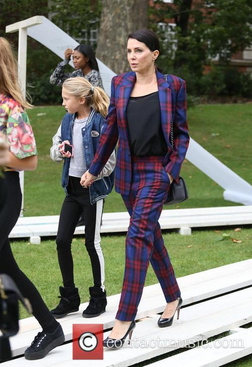 Sadie Frost, daughter Iris Law, London Fashion Week