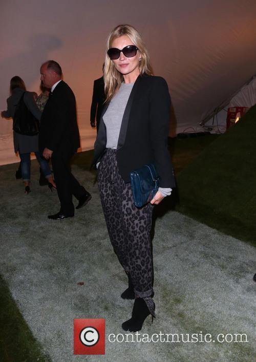Kate Moss, London Fashion Week