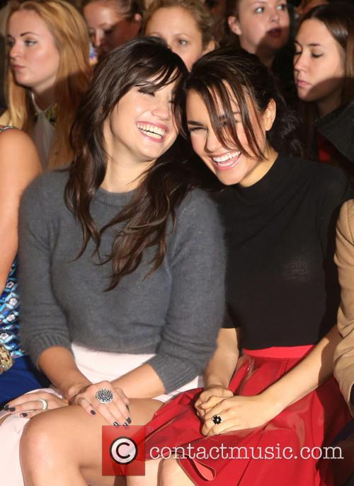 Daisy Lowe and Samantha Barks 5
