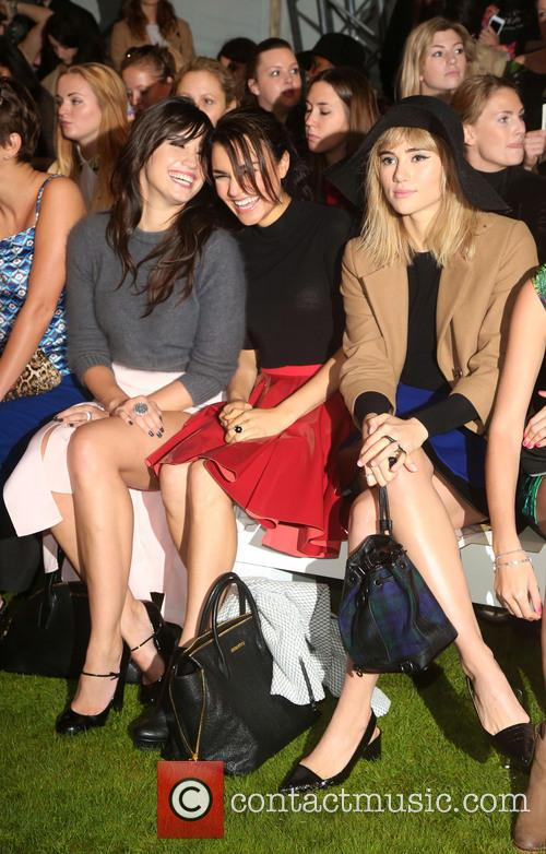 Daisy Lowe, Samantha Barks and Suki Waterhouse 6