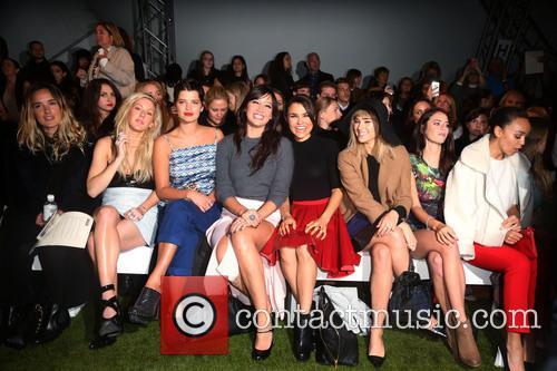 Ellie Goulding, Pixie Geldof, Daisy Lowe, Samantha Barks, Suki Waterhouse and Kaya Scodelario 7