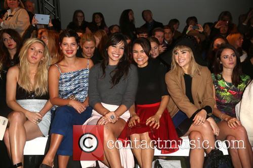 Ellie Goulding, Pixie Geldof, Daisy Lowe, Samantha Barks, Suki Waterhouse and Kaya Scodelario 9