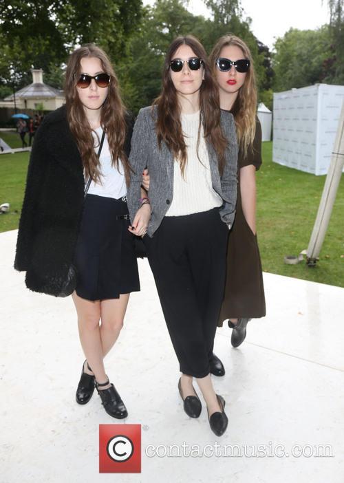 Haim, London Fashion Week