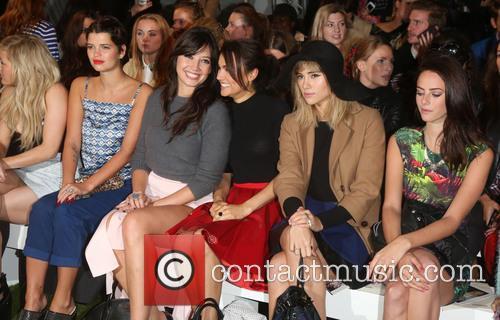 Pixie Geldof, Daisy Lowe, Samantha Barks, Suki Waterhouse and Kaya Scodelario 1