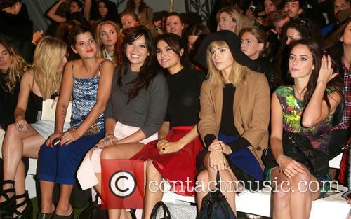 Pixie Geldof, Daisy Lowe, Samantha Barks, Suki Waterhouse, Kaya Scodelario, London Fashion Week