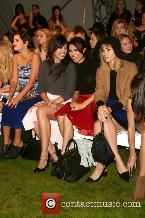 Pixie Geldof, Daisy Lowe, Samantha Barks and Suki Waterhouse 2