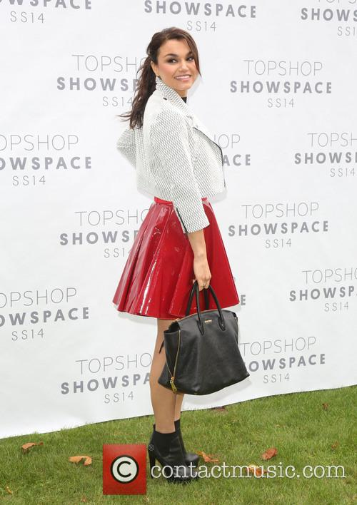 Samantha Barks, London Fashion Week