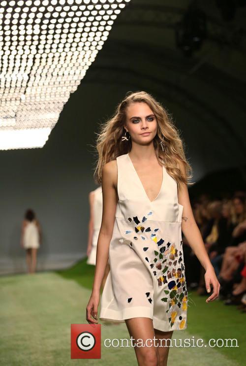 Cara Delevingne, London Fashion Week