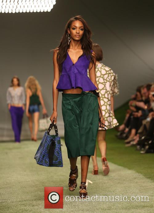 Jourdan Dunn, London Fashion Week
