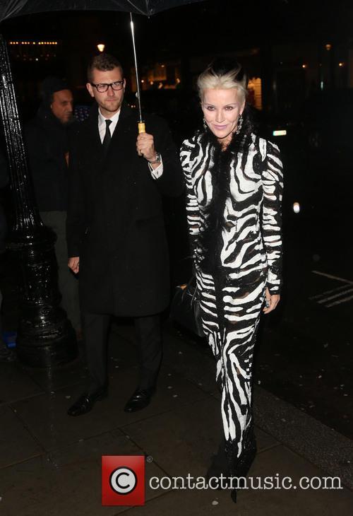 Daphne Guinness, London Fashion Week