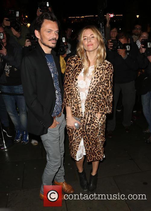 Matthew Williamson and Sienna Miller 2