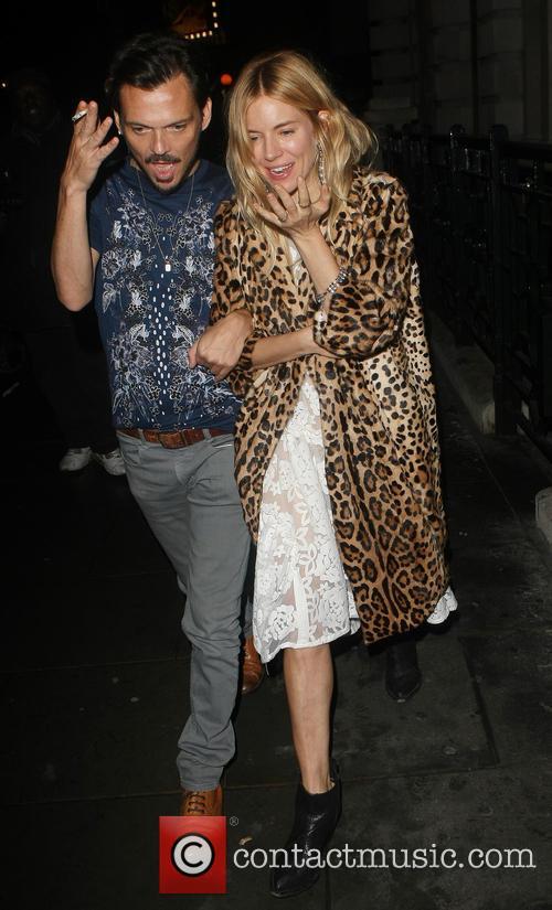 Matthew Williamson and Sienna Miller 4