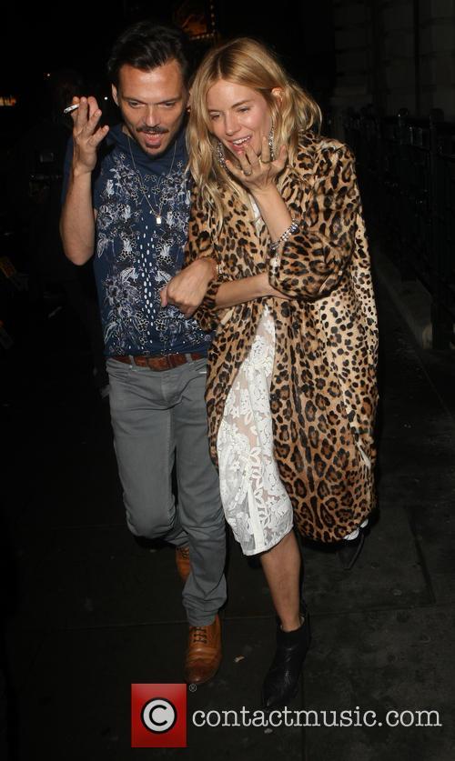 Matthew Williamson and Sienna Miller 5