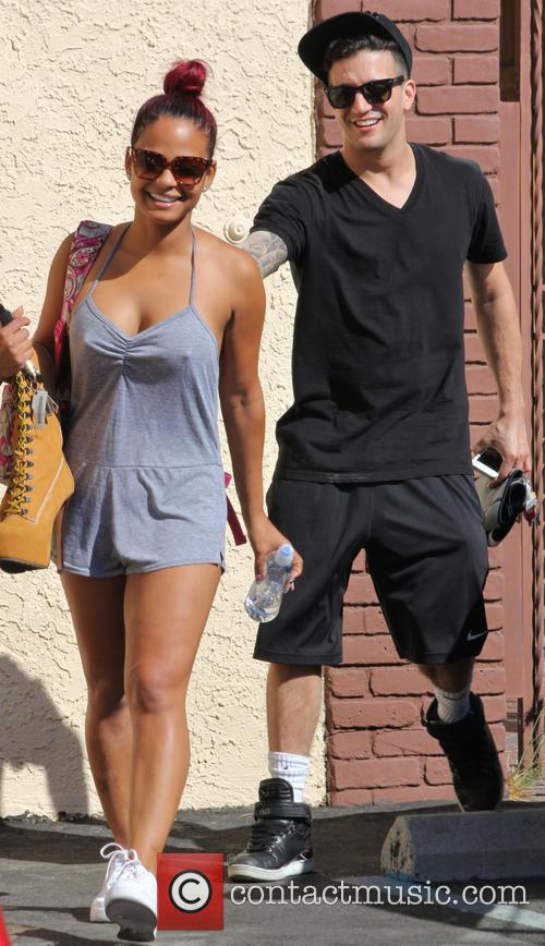 Christina Milian and Mark Ballas 4