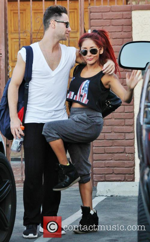 Snooki, Sasha Farber and Dancing With The Stars 6
