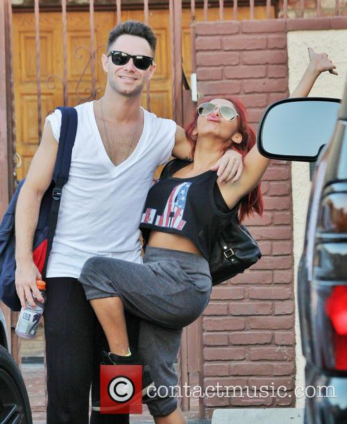 Snooki, Sasha Farber and Dancing With The Stars 8
