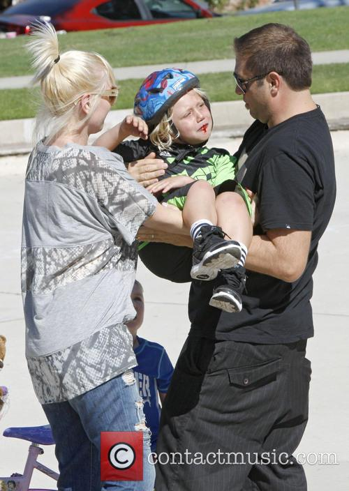 zuma rossdale gwen stefani spends the day 3868446