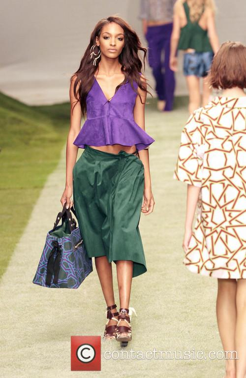 Jourdan Dunn, Central London, London Fashion Week