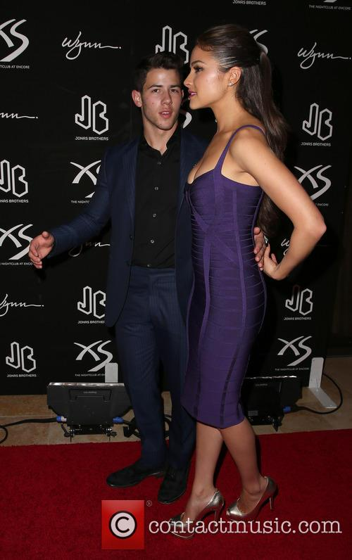 Nick Jonas and Olivia Culpo 1