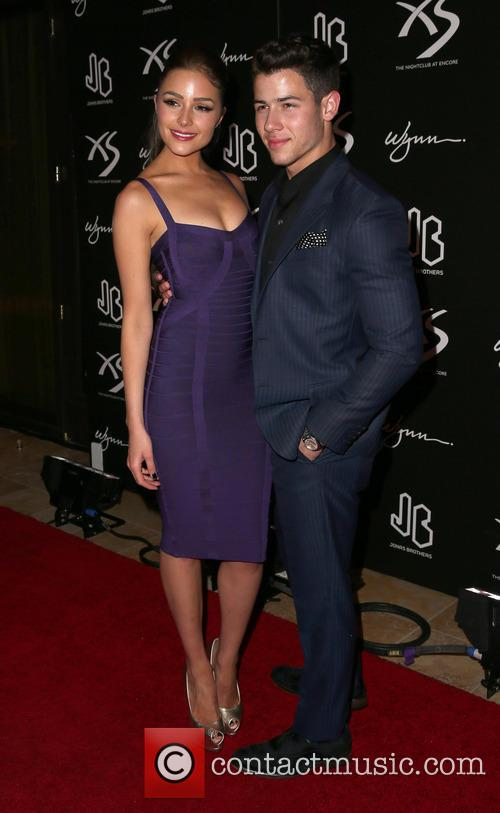 Nick Jonas and Olivia Culpo 4