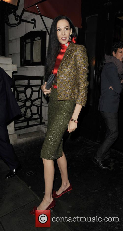 LFW s/s 2014 - Vogue Dinner - Arrivals