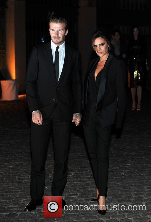 David, Victoria Beckham