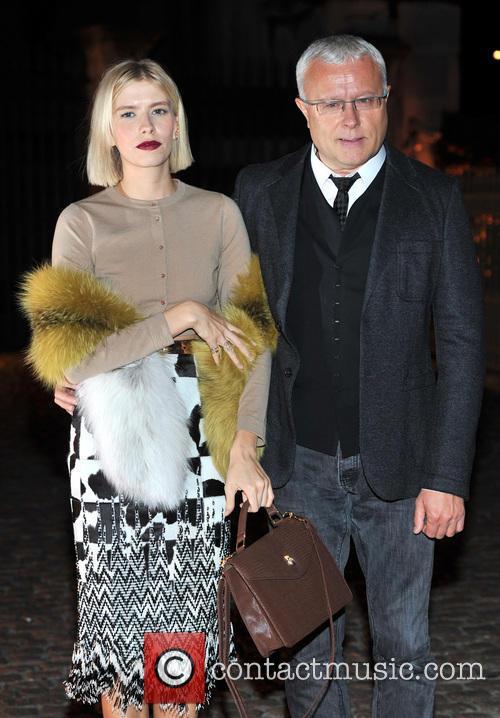 Elena Perminova and Alexander Lebedev 2